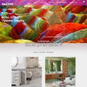 طراحی وب سایت و بهینه سازی وب سایت (سئو SEO وبسایت) سنگ ROYAL STONE TRADING