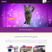 طراحی وب سایت و بهینه سازی وب سایت (سئو SEO وبسایت) پانسیون گربه کت مام