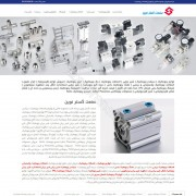 طراحی وب سایت و بهینه سازی وب سایت (سئو SEO وبسایت) پنوماتیک صنعت گستر نوین