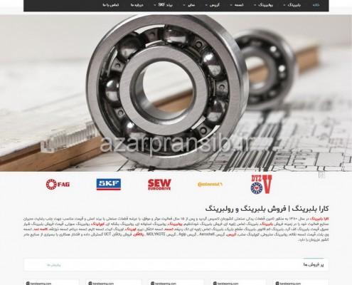 کارا بلبرینگ مرکز فروش بلبرینگ و رولبرینگ - طراحی وب سایت و سئو SEO وبسایت